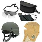 Helmet, Cover, Mount, Goggle, Hood, Cold Weather, Fire Resistant, Aviation Headset
