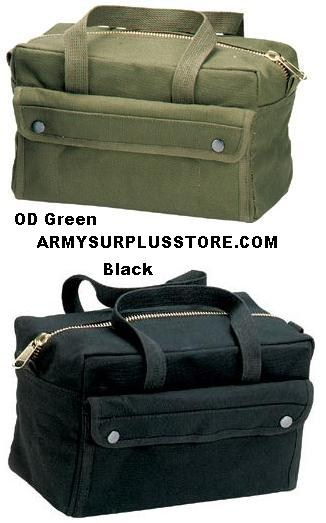 G I Type Brass Zipper Mechanics Tool Bags