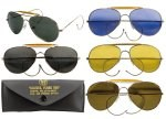 Air Force Style Sunglasses w/Case