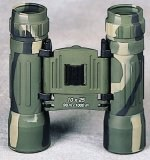 Camouflage Compact 10 X 25mm Binoculars W/Case