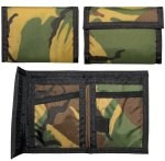 Camouflage Nylon Commando Wallet