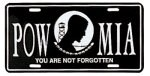 POW/MIA License Plate
