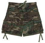 Woodland Camouflage Swim Trunks