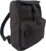 Heavyweight Black Canvas Day Pack