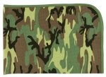 Infant Woodland Camouflage Receiving Blanket