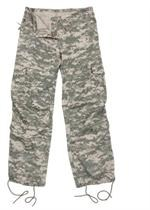 Womens Vintage Paratrooper Fatigue Pants - Camo - ACU Digital