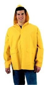 Yellow PVC Rainjacket