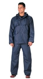 Navy Blue Microlite Rainsuit