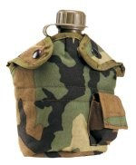 G.I. Type Camouflage Enhanced Nylon 1 Qt Canteen Cover