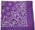 Purple Trainmen Bandana