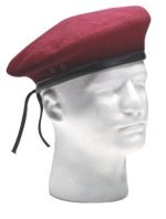 Ultra Force G.I. Style Maroon Beret