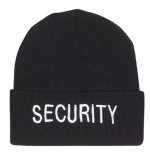 Watch Cap - Embroidered - Security