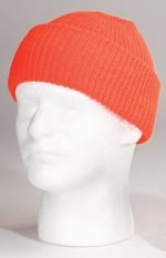 Watch Cap - Solid - Orange