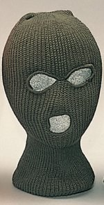 Face Mask - 3 Hole - Olive Drab