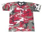 Red Camouflage T-Shirt