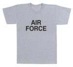 Gray Physical Training T-Shirt - Air Force