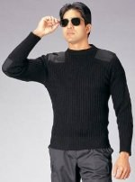Sweater - Commando - Wool - Black