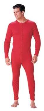 Red Union Suit