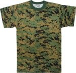 Digital Camo T-Shirt - Woodland