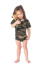 Infant Camouflage One Piece Bodysuit