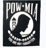 Black POW/MIA T-Shirt