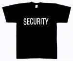 Security Black 2-Sided T-Shirt