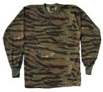 Long Sleeve Camo T-Shirt - Tiger Stripe