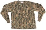 Long Sleeve Camo T-Shirt - Smokey Branch
