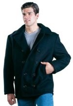Peacoat  U.S. Navy Type - U.S. Made