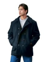 Peacoat - U.S. Navy Type - Black