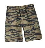 Ultra Force Tiger Stripe Camo BDU Combat Shorts