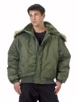 Flight Jacket - N 2B - Sage Green