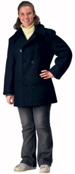 Peacoat - U.S. Navy Type - Navy Blue
