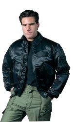 Flight Jacket - CWU-45P - Black