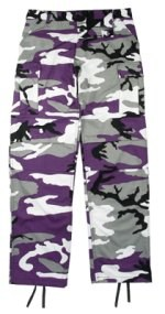 Ultra Force Ultra Violet Camouflage BDU Pants