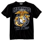 Marine Globe & Anchor T-Shirt