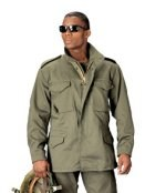 M-65 Field Jacket - Solid - Olive Drab