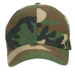 Low Profile Cap - Camo - Woodland