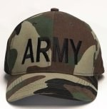 Low Profile Cap - Army - Woodland Camo