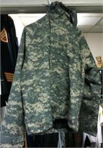 Overgarment, Chemical Protective, NFR, Jacket, ACU, Universal Camouflage