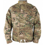 Coat, Bond-It Insect Repellent Apparel, Army Combat Uniform, Flame Resistant, Large- Regular, Multicam