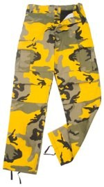 Ultra Force Stinger Yellow Camouflage BDU Pants