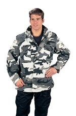 M-65 Field Jacket - Camo - City