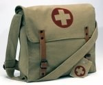 Shoulder Bag - Medic - Khaki