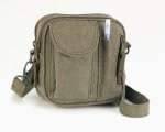 Shoulder Bag - Excursion Organizer - Vintage Olive Drab