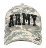 Low Profile Cap - Army Deluxe - ACU Digital Camo