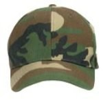 Kids Low Profile Cap - Camo - Woodland