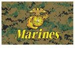 WOODLAND DIGITAL MARINES FLAG-3' X 5'