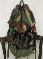Field Pack, Large with Internal Frame, Woodland Camouflage