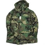 Parka, Improved Rainsuit - Woodland Camouflage